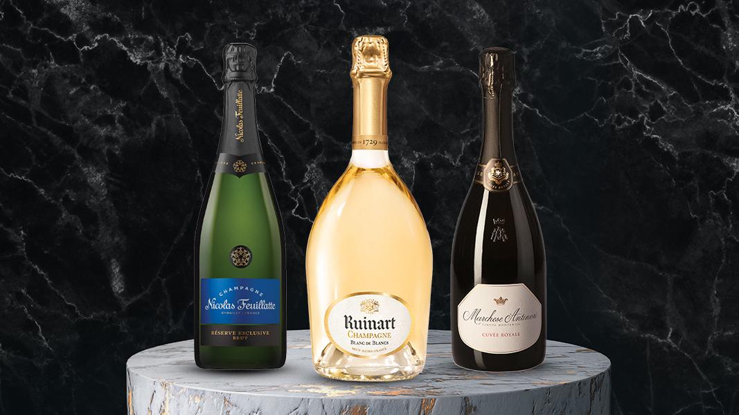 35 Iconische Champagnes