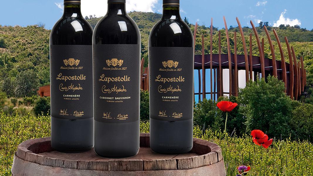 75 Wereldklasse wijnen van Lapostolle