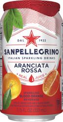 Italian Sparkling Drinks Aranciata Rossa Blik