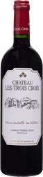 bordeaux chateau les trois croix fronsac staand