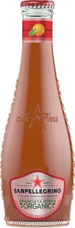 Italian Sparkling Drinks Aranciata Rossa Fles