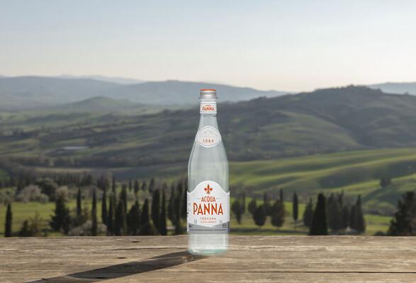 Best of Tuscany Acqua Panna bottle