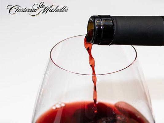 Chateau Ste Michelle wine